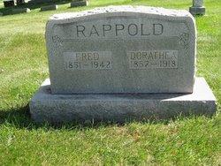 Dorothea Dora <i>Stallmann</i> Rappold