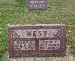 Mary Anna May <i>Bock</i> West