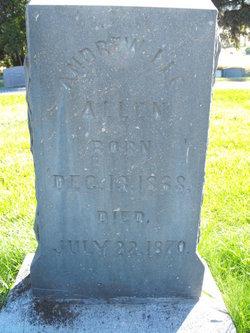 Andrew Lee Allen, III