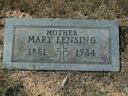 Marie Mary Lensing