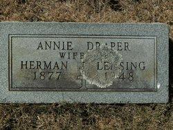 Annie M <i>Draper</i> Lensing