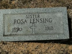 Mary Rosa Rosie Lensing