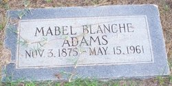Mabel Blanche Adams