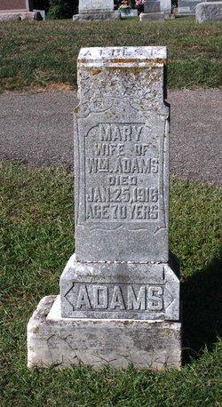 Mary <i>Hudson</i> Adams