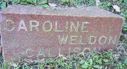 Caroline Weldon Nel <i>Bruner</i> Callison