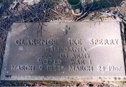 Clarence (Ike) Sperry