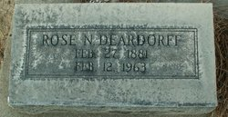 Rose N. Deardorff