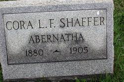 Cora L F <i>Shaffer</i> Abernatha