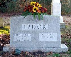 Betsy <i>Everette</i> Ipock