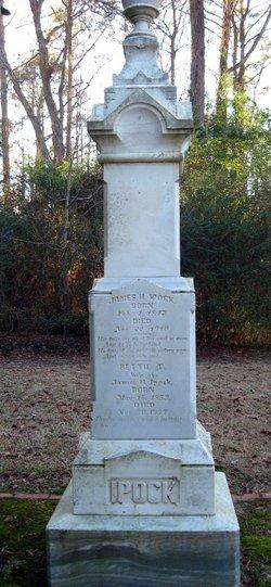 Elizabeth Thomas Bettie <i>Wetherington</i> Ipock