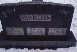 Everette Gordon Buck VanMeter
