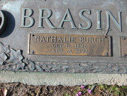 Nathalie Roxanna <i>Burch</i> Brasington