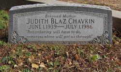 Judith <i>Blaz</i> Chavkin