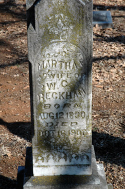 Martha Elizabeth <i>Pickett</i> Beckham