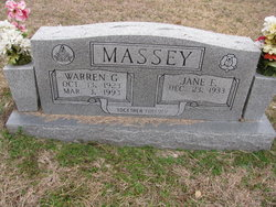 Jane F Massey