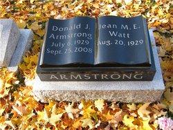 Donald J Armstrong