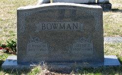 Jettie Ann <i>Dillon</i> Bowman
