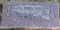 Hazel Dora <i>Childress</i> Addison
