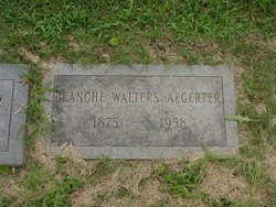 Blanche <i>Walters</i> Aegerter