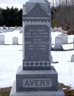 Mary <i>Christopher</i> Avery
