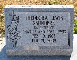 Theodora <i>Lewis</i> Saunders