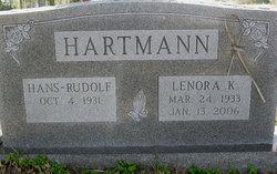 Lenora Lee K. Hartmann