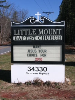 Little Mount Baptist Church Cemetery