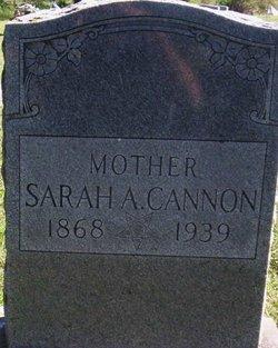 Sarah Ann <i>Bell</i> Cannon
