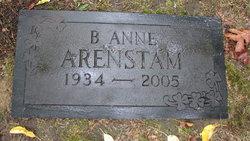 B. Anne Arenstam