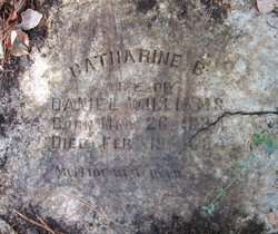Catherine Bell <i>Slaughter</i> Williams
