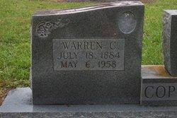 Warren C Copeland
