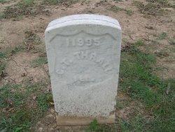 Pvt Chauncey T. Thrall