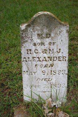 M. D. Alexander