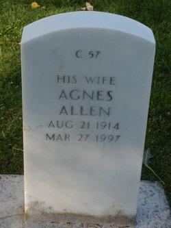 Agnes <i>Brady</i> Allen