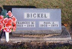 Frances M <i>Cripe</i> Bickel
