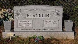 Lloyd Benjamin Franklin