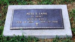Pete E. LANE