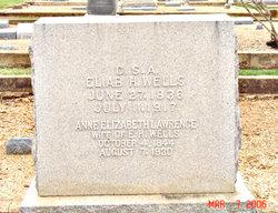 Anne Elizabeth <i>Lawrence</i> Wells