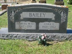 Cora E. <i>Gilbert</i> Bailey