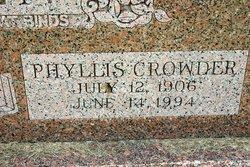 Phyllis <i>Crowder</i> Allen