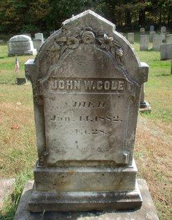 John W Cole