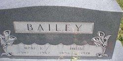 Opal Katherine <i>Hunsinger</i> Bailey