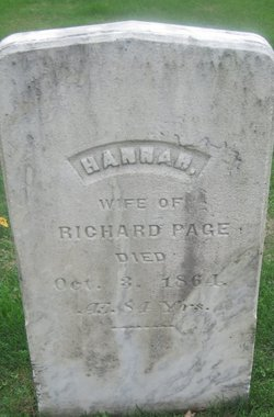 Hannah <i>Shaw</i> Page