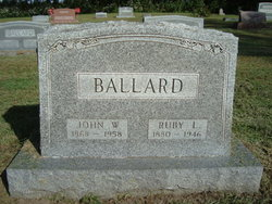 Ruby Lee <i>Collier</i> Ballard