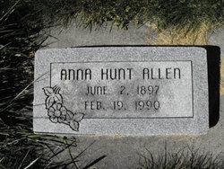 Anna Eliza <i>Hunt</i> Allen