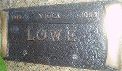Viola Edith <i>Morris</i> Lowe
