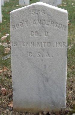 Pvt Robert Anderson