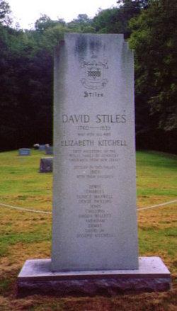 Elizabeth <i>Kitchell</i> Stiles
