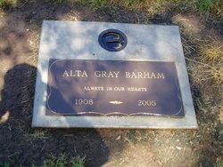 Alta Wookey <i>Gray</i> Barham