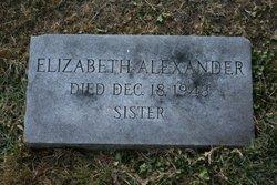 Elizabeth P. Alexander